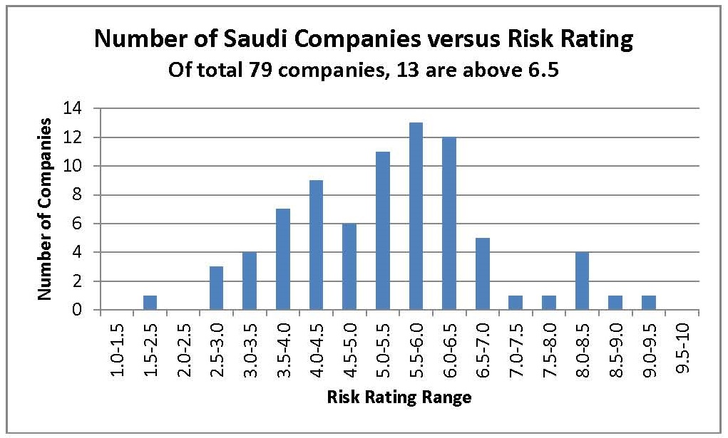 How Risky is a Saudi Portfolio? A selection of Credit Risk Ratings